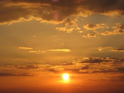 Zdjęcie - zachód słońca #3 - powiększenie