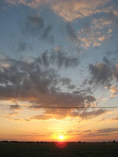 Zdjęcie - zachód słońca #2 - powiększenie