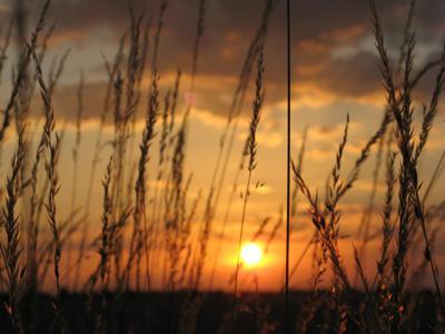 Zdjęcie - zachód słońca #1 - powiększenie