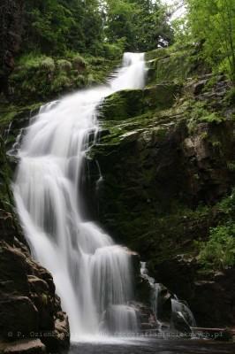 Wodospad Kamieńczyka - zdjęcie zpliku jpg