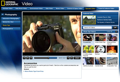 Porady Video National Geographic