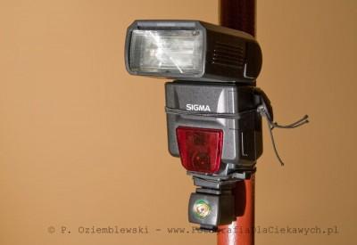 Lampa błyskowa zfotocelą