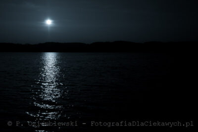 Widoczek wblasku Księżyca, czySłońca?