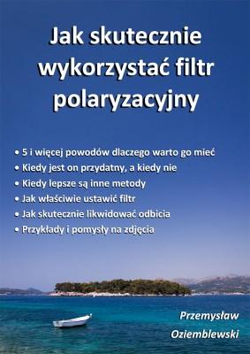 Okładka do ebooka o filtrze polaryzacyjnym -  wersja 1