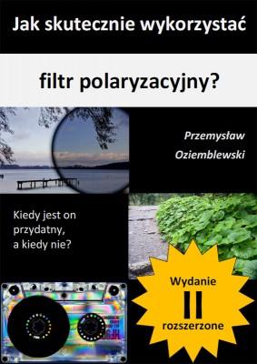 Okładka do ebooka o filtrze polaryzacyjnym -  wersja 3