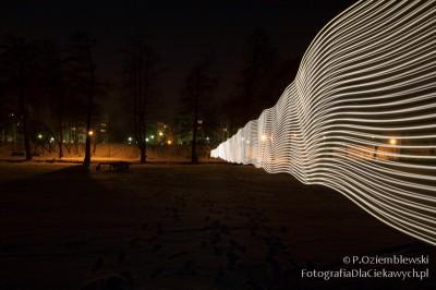 Ściana świateł - prawa