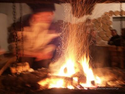 Zdjęcie przy ognisku