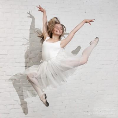 Zdjęcie wruchu - baletnica