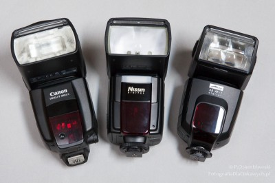 Lampy błyskowe dosystemu Canona