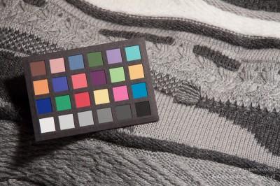 Test barwy - żarówka