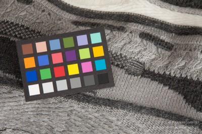 Test barwy - światło dzienne