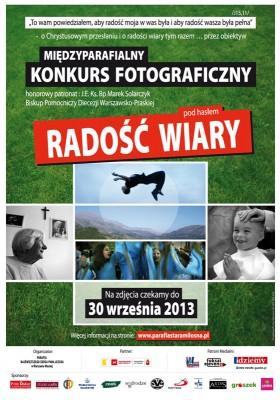 Konkurs fotograficzny  - Radość wiary
