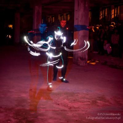 led light dance - taniec światła LED