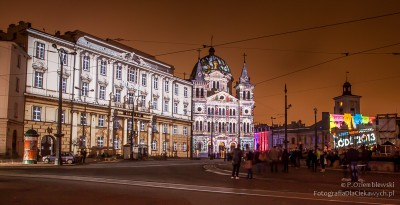 Light Move Festival 2013 - Festiwal Kinetycznej Sztuki Światła w Łodzi
