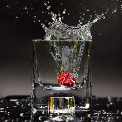 Truskawka w wodzie