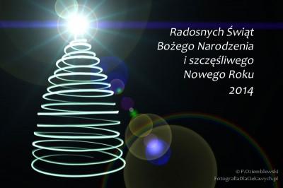 Życzenia naBoże Narodzenie iNowy Rok