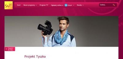 Projekt Tyszka - wTVN Style