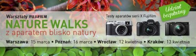 Fujifilm NatureWalks