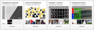 Fotografia - tablice informacyjne