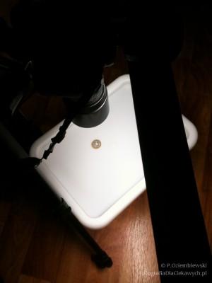 Jak fotografować monety - przykład 2 - ustawienie3