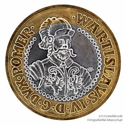 Jak fotografować monety - przykład 3
