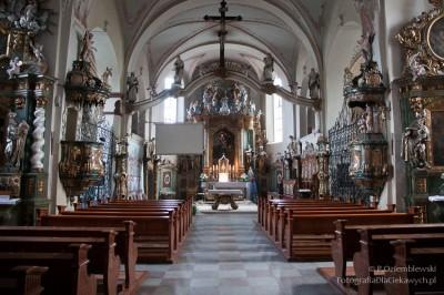 Kościół - światło zastane