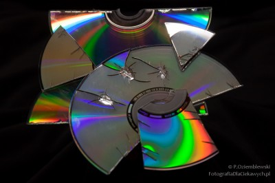 Kolorowe zdjęcia CD