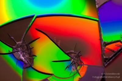 Kolorowe abstrakcje - zdjęcia CD