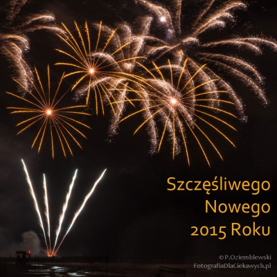 Szczęśliwego Nowego 2015 Roku!