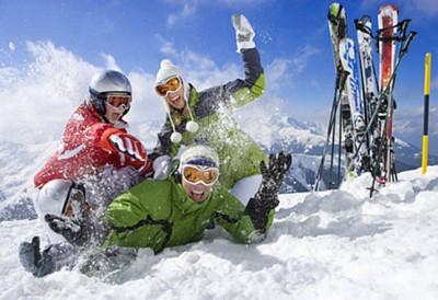Radość na śniegu