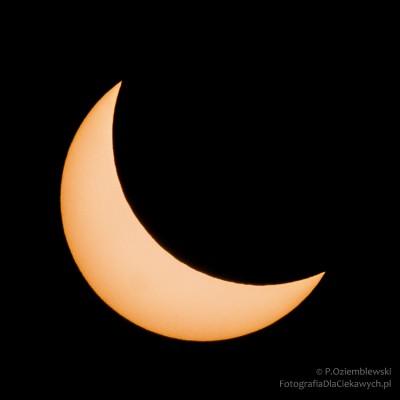 Zaćmienie Słońca - 20-03-2015r.