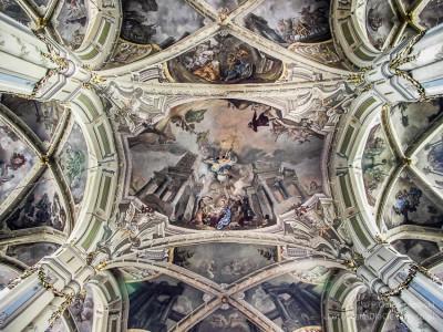 Freski ipolichromie - zdjęcie obrobione wprogramie graficznym