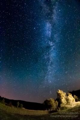 Droga Mleczna - po obróbce