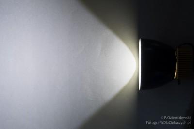 Efekt świecenia zosłonką