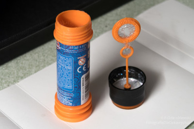 System puszczania baniek mydlanych