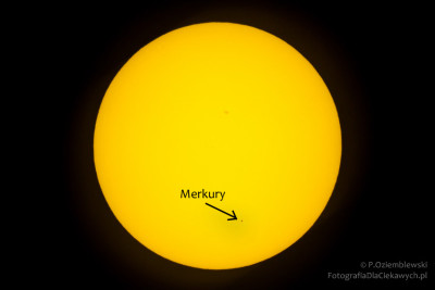 Merkury natle Słońca