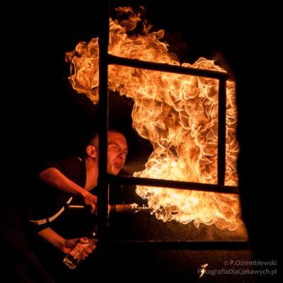 Czas naświetlania i dynamika ognia