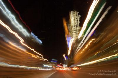 Czas naświetlania iświatła miasta