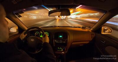 Zdjęcie z samochodu