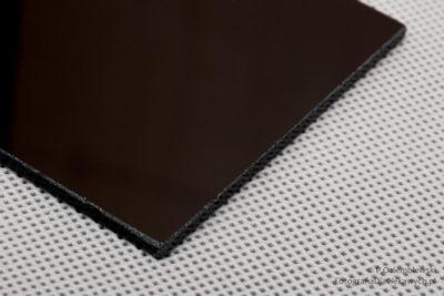 Filtr spawalniczy ciemny zoszlifowanymi krawędziami