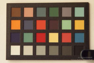 Zdjęcie powprowadzeniu profilowania kolorów wprogramie graficznym