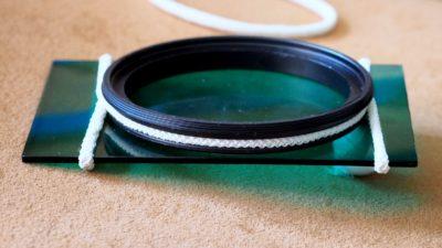 Przymocowany filtr