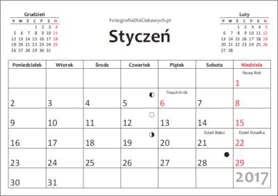 Kalendarz 2017 dodruku - 12mcy - v1