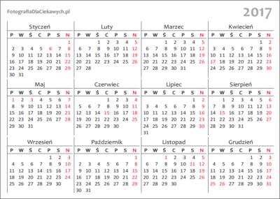Kalendarz 2017 dodruku - 1rok - v1