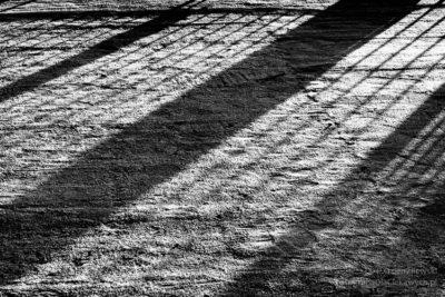 Zdjęcia zimy - cienie