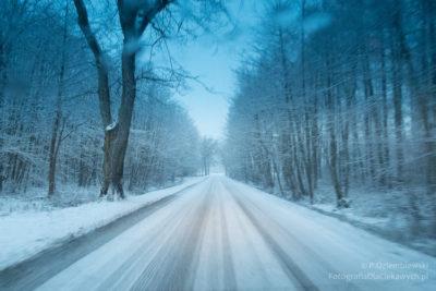 Zdjęcia zimy - droga