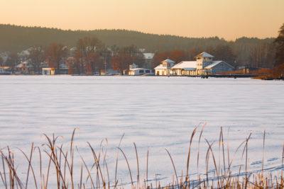 Zdjęcia zimy - śnieżny krajobraz
