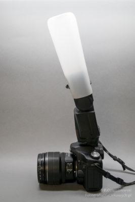 Dyfuzor do lampy błyskowej - DIY