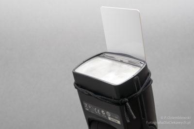 Płytka dolampy błyskowej - mocowanie