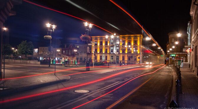 Z wizytą w Czarnkowie – ciekawe miejsce na nocne zdjęcia
